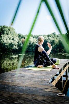 Faszien Yoga 10 Karte 75 Minuten